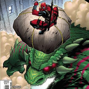 Budding Romance and Senseless Monster Killing in Deadpool #5 [XH]