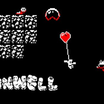 "Someone Made A ""Super Mario Maker 2"" Version of ""Downwell"""