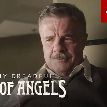 Lewis' investigation turns deadly in Penny Dreadful: City of Angels, courtesy of Showtime.