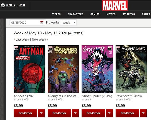 #Marvel Closes Website Comics Reader, Switches to App and #ComiXology Only.