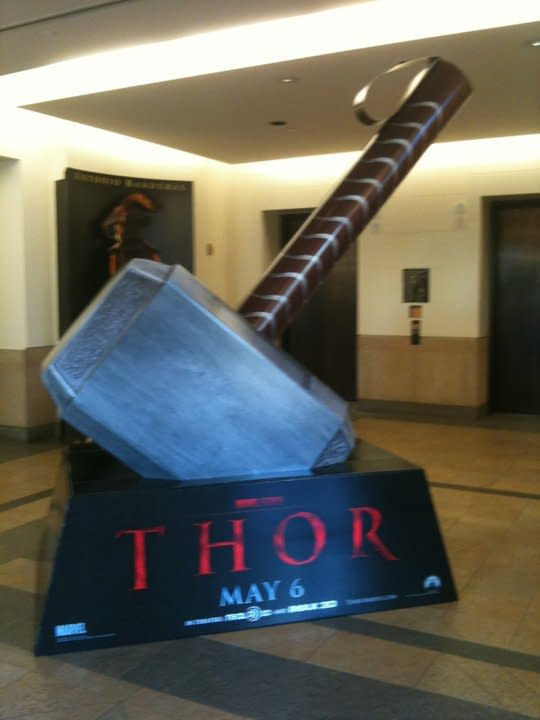Whosoever Holds This Hammer, If He Be Worthy, Shall Possess The Power Of Thor