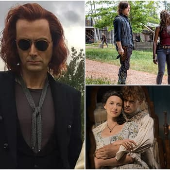 The Walking Dead Outlander David Tennant Highlight PaleyFest NY 2018 Schedule