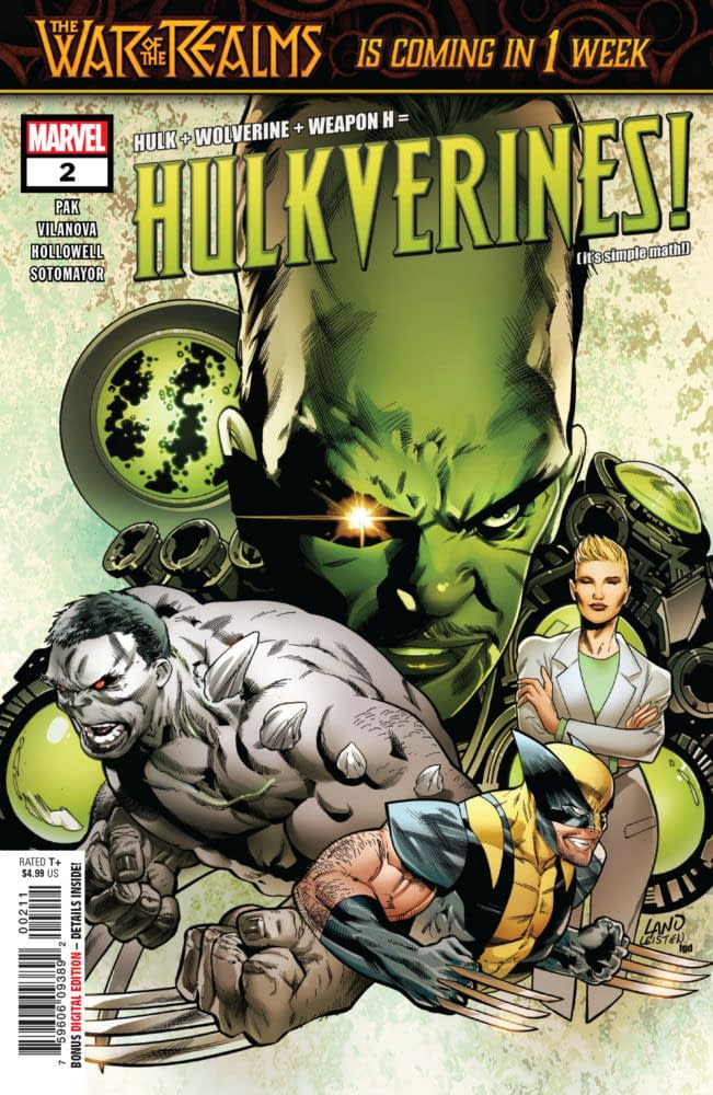 Next Week's Hulkverines #2 Proves Why Moms Are Always Right