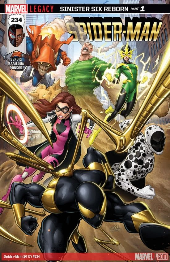 Spider-Man #234 cover by Patrick Brown