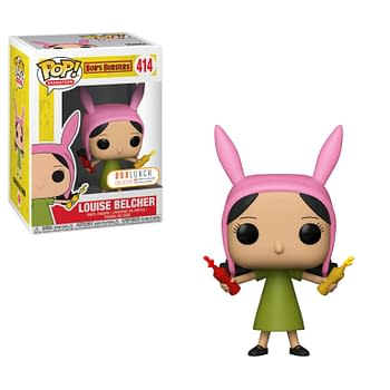 Bob's Burgers Louise w_ Ketchup & Mustard_POP (BoxedLunch _ Funko)