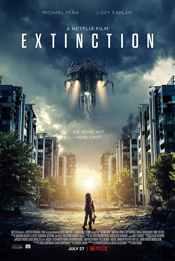 First Trailer and Poster for the Netflix Original Movie Extinction