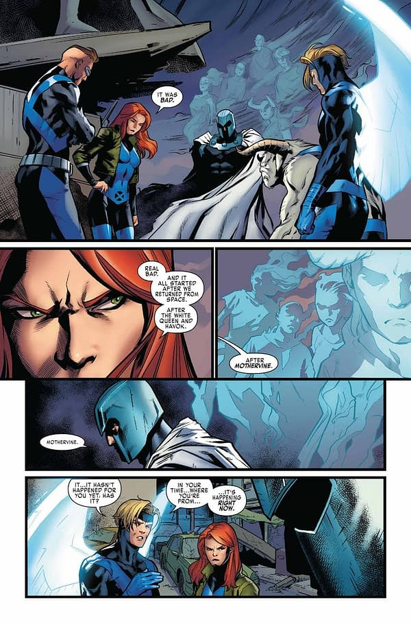 Marvel Gives Cyclops a Richard Spencer Haircut in X-Men Blue #34 Preview