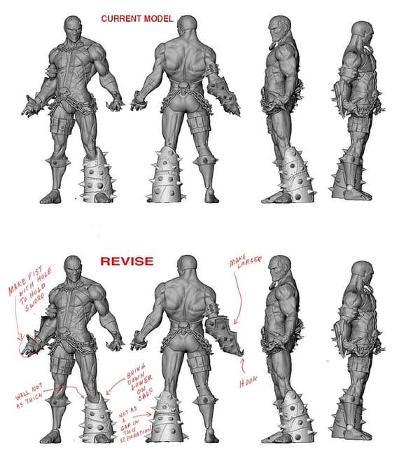 Figure de la campagne Kickstarter de Spawn McFarlane Toys