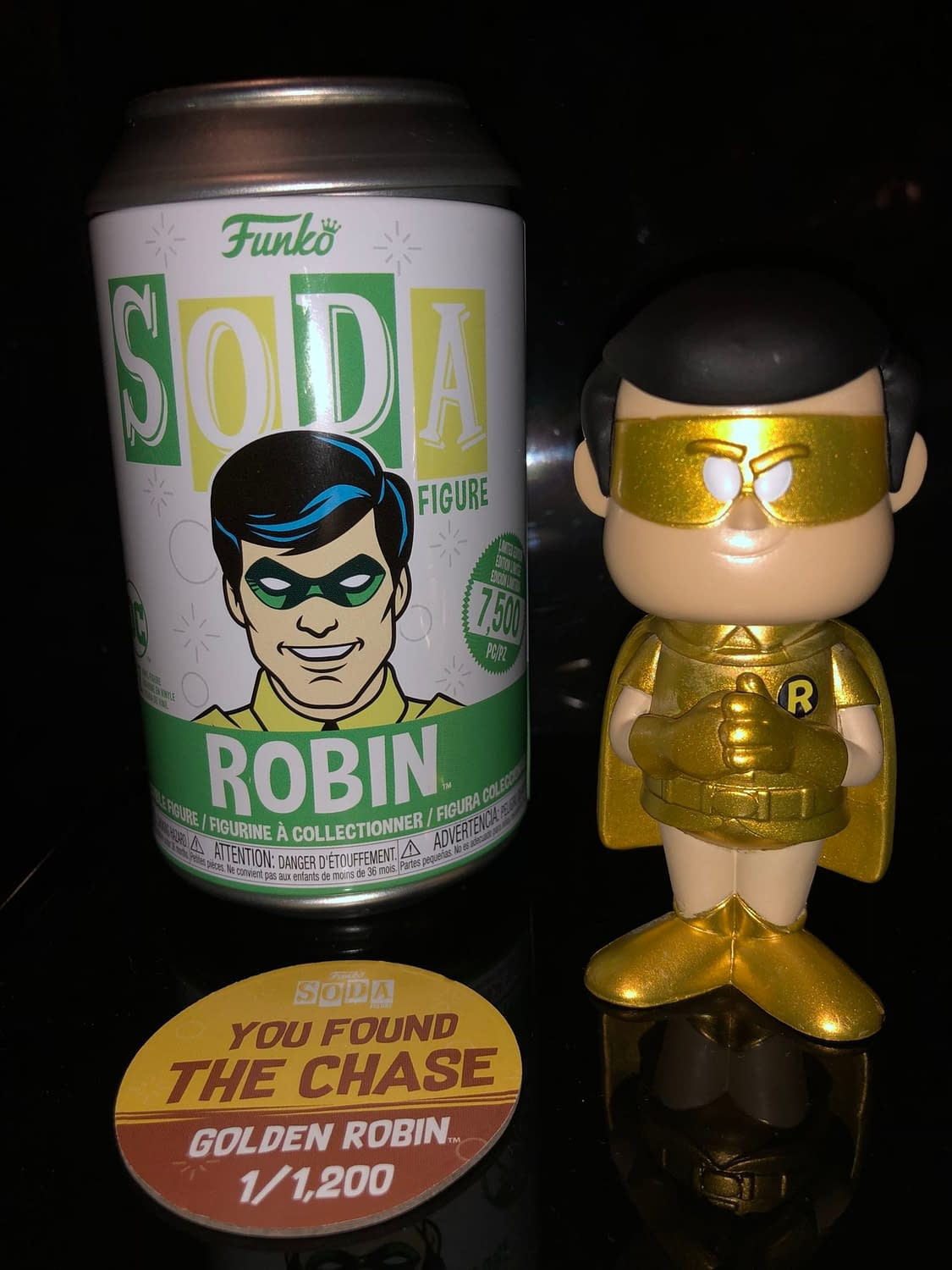 Funko Soda: The Hunt for the Chase - Robin Edition