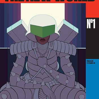 The New World #1 Review: Running Man Judge Dredd and Robocop Mixed Into One