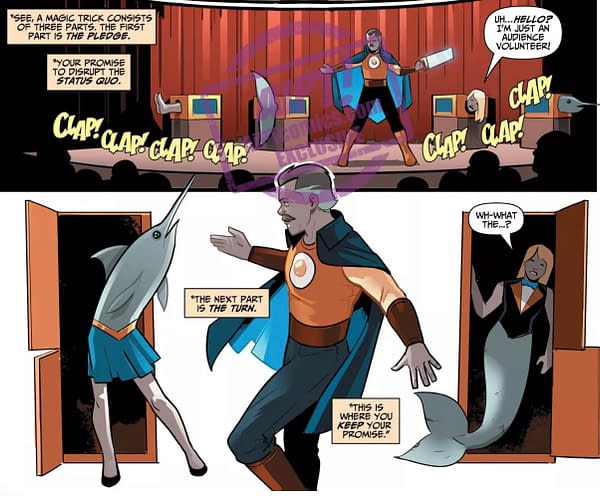 The Secrets of Magic Explained in This Wonder Twins #5 Preview