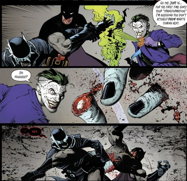 The Batman Who Laughs from Metal #6