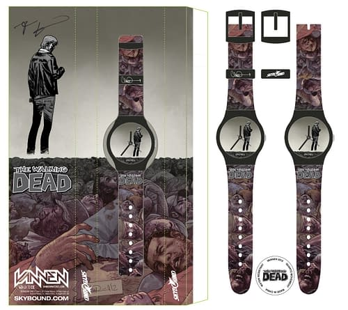 Walking Dead San Diego Exclusives – A Michonne Poncho Figure And A Watch With One Hand