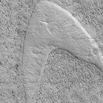 """NASA Finds """"Star Trek"""" Image On Mars, Your Move Lucasfilm"""