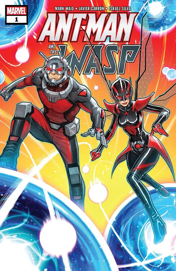 Ant-Man and the Wasp #1 cover by David Nakayama