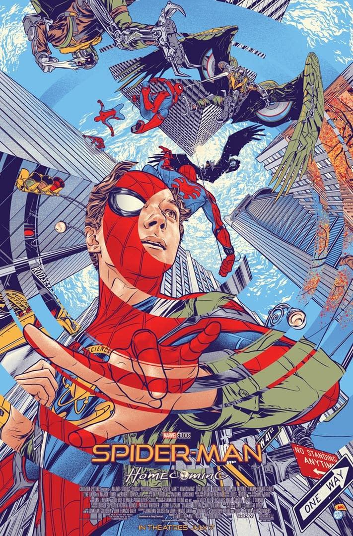 Spider-Man: Homecoming Mondo Poster