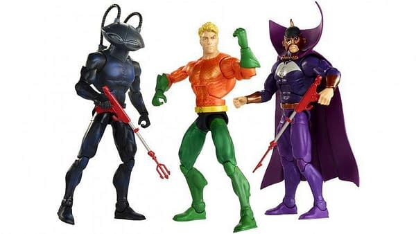 Mattel SDCC Exclusive Aquaman Set 1