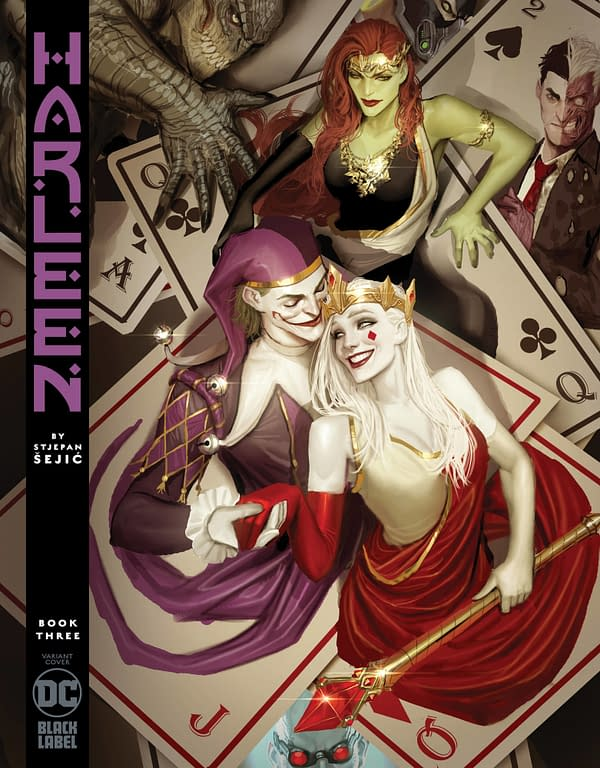 Deals and Delays For DC Comics - Harleen, Joker/Harley: Criminal Sanity and Basketful Of Heads