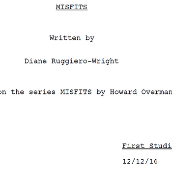 Ive Just Read Diane Ruggiero-Wrights Script For The US Remake Of Misfits
