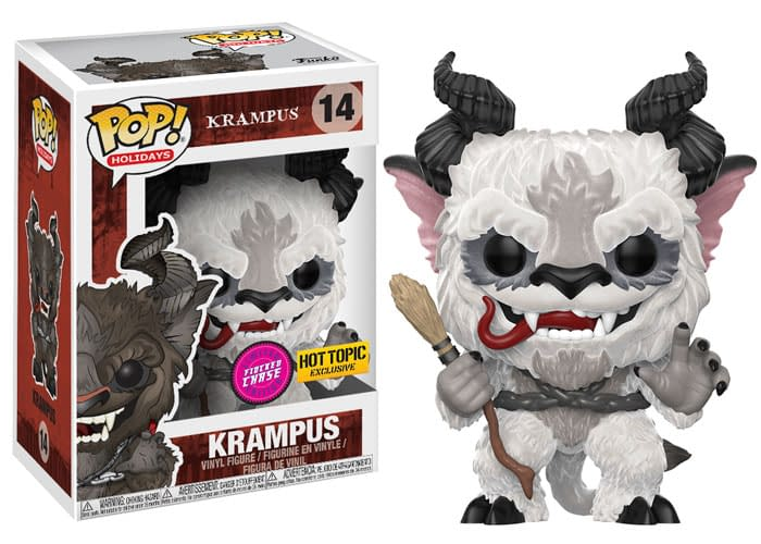 Funko Pop Krampus FLocked CHase Hot Topic
