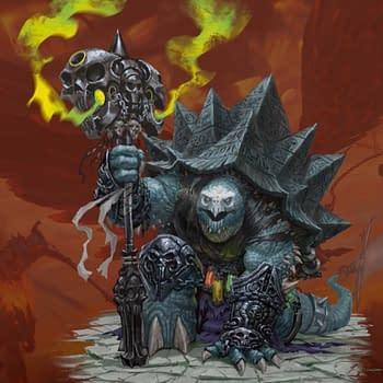 Joe Manganiello Designs An Evil Tortle For D&D's Next Campaign