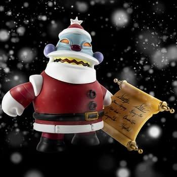 Futurama Collectibles Including Robot Santa on the Way From Kidrobot