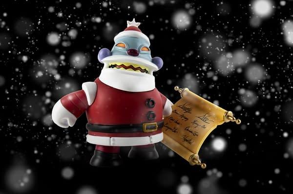 Futurama Kid Robot Robot Santa 3