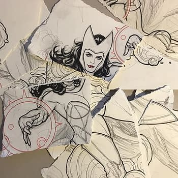Which Comics Pro Ripped Up A Frank Cho Drawing Of The Scarlet Witch The Answer May Shock You