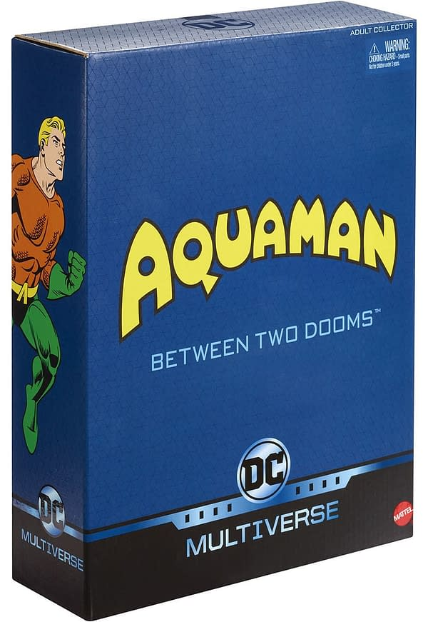 Mattel SDCC Exclusive Aquaman Set 4