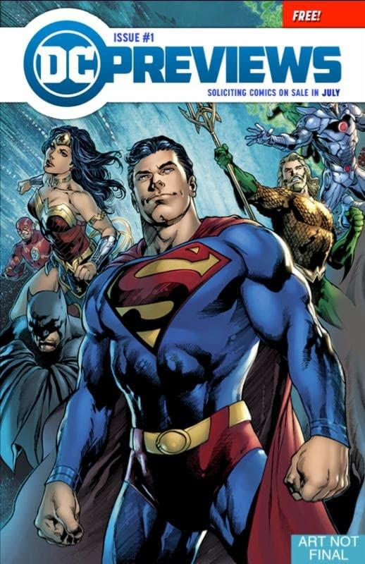 DC Comics Leaves Diamond Previews Catalogue, Launches Its Own