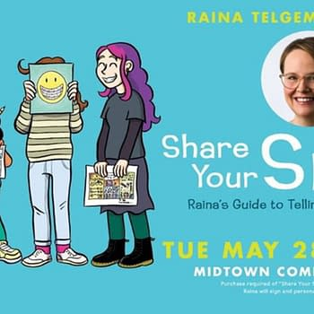 Tonight, Midtown Comic Hosts One Of Its Biggest Ever Signings - Raina Telegemier
