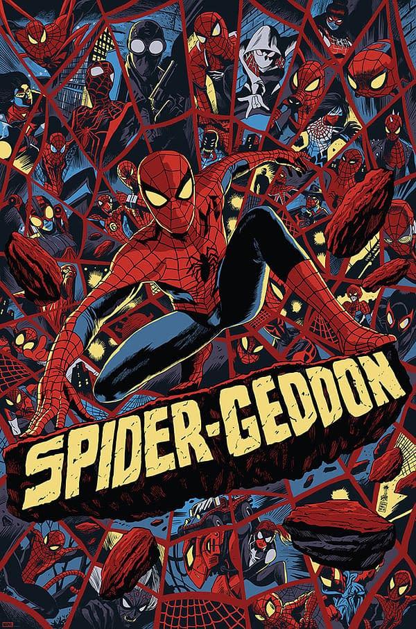 Spider-Verse Spider-Geddon Poster 1