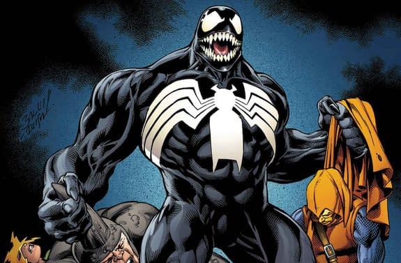 Venom #155 cover by Gerardo Sandoval