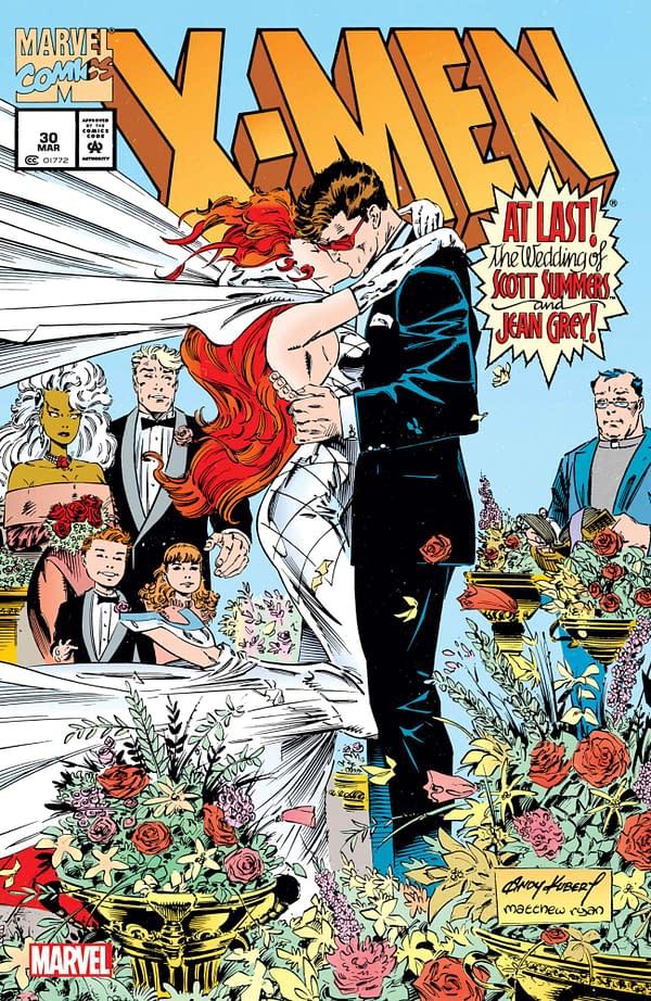 The Wedding of Jean Grey and Scott Summers in Marvel's June Solicitations