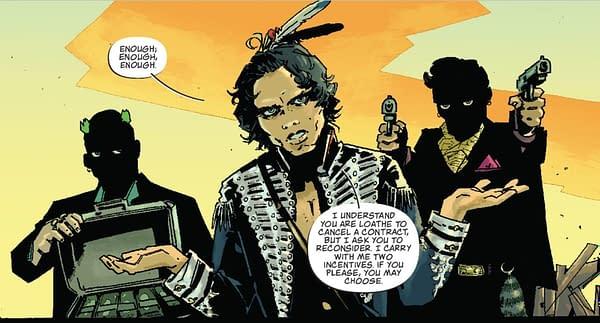 Is Dan Watters and Dani's Coffin Bound From Image Comics, the Sandman for the Twenty-Twenties?