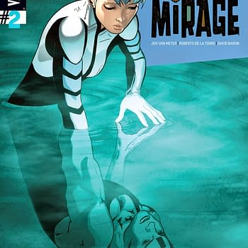 Death Defying Dr. Mirage Cover