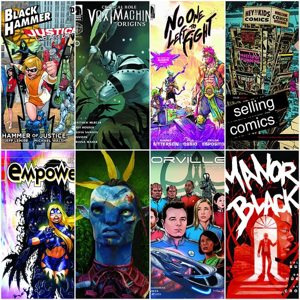 Dark Horse Lanches Critical Role, The Orville, Black Hammer/Justice League, Manor Black No One Left To Fight in July 2019 Solicitations