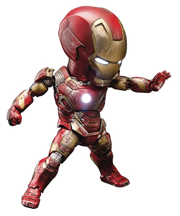 Two New Iron Man Figures From Beast Kingdom are Up For Order