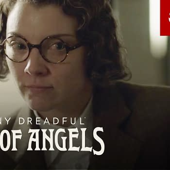 The many faces of Natalie Dormer's Magda on Penny Dreadful: City of Angels, courtesy of Showtime.