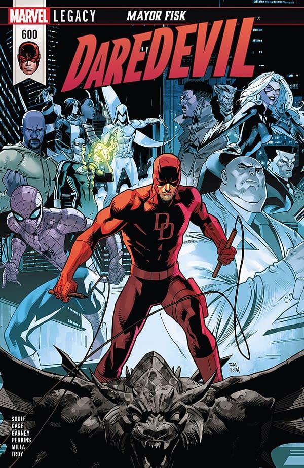 Daredevil #600 cover by Dan Mora