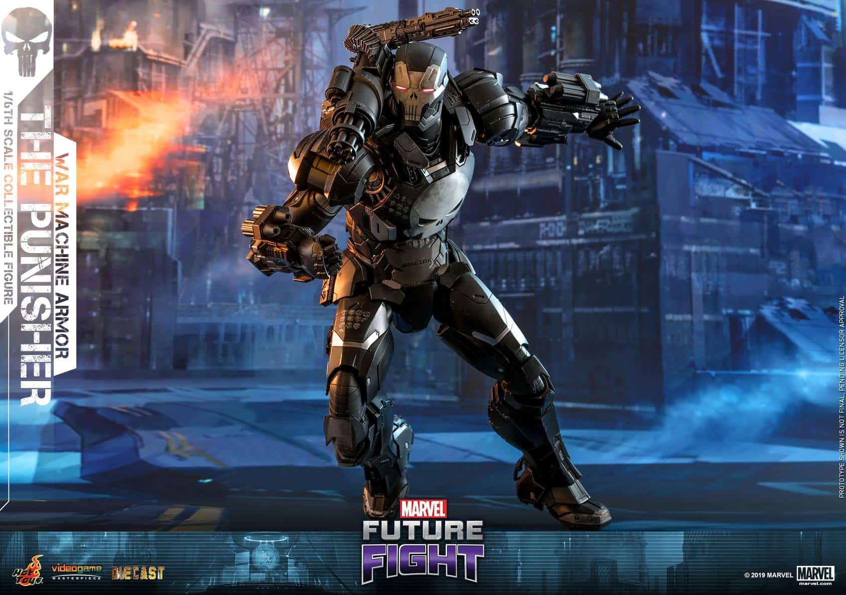 Marvel Future Fight War Machine Punisher 10