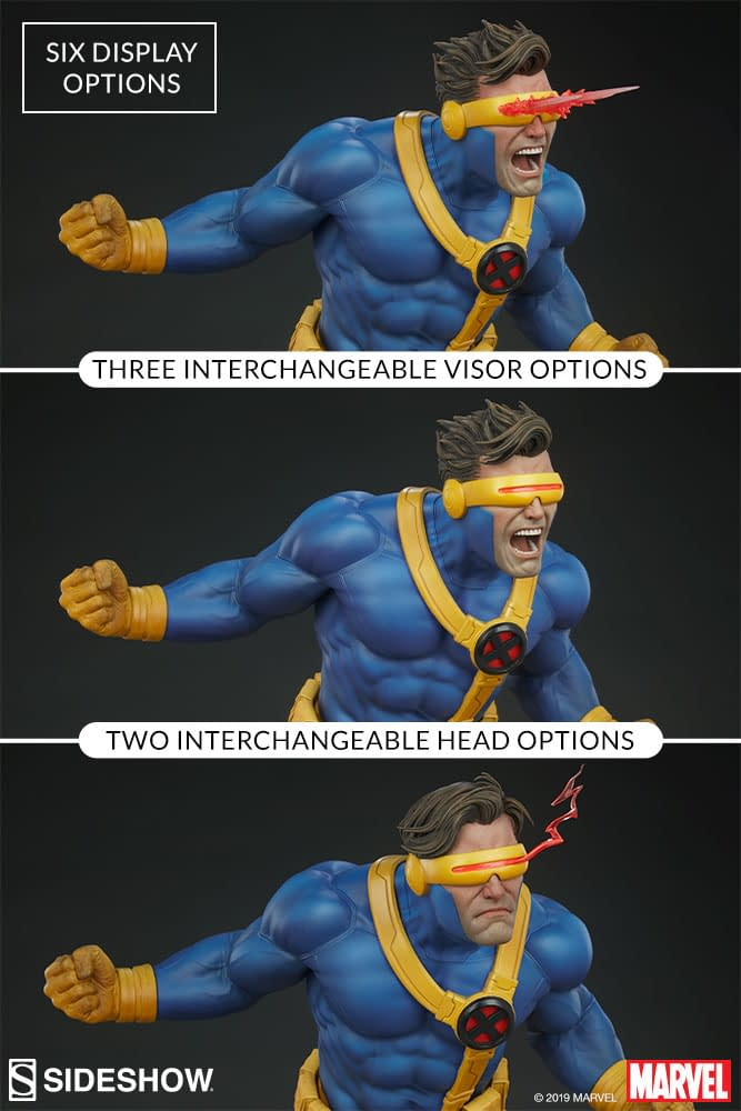 Cyclops Gives Us a 90s Throwback with new Sideshow Statue