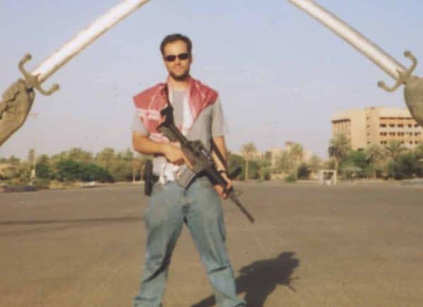 Tom King, in Iraq in 2004.