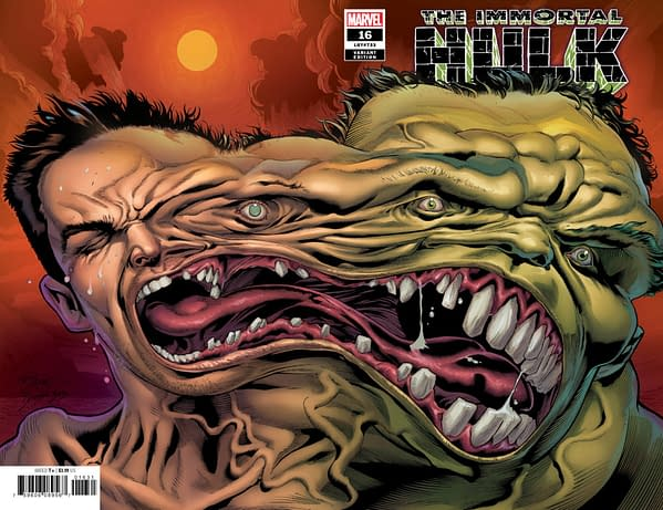 As Immortal Hulk #16 Becomes a Three-Figure Comic on eBay Before Publication, it Gets Two Second Printings