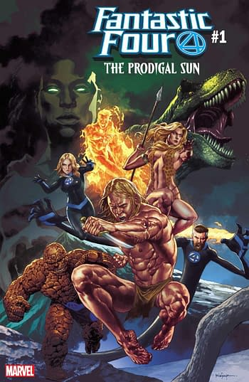 Prodigal Sun: A Marvel Mini-Crossover Launching in July