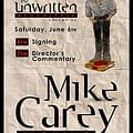 Orbital Directors Commentary &#8211 Mike Carey On The Unwritten