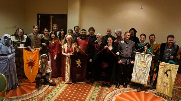 Game of Thrones LARP Group