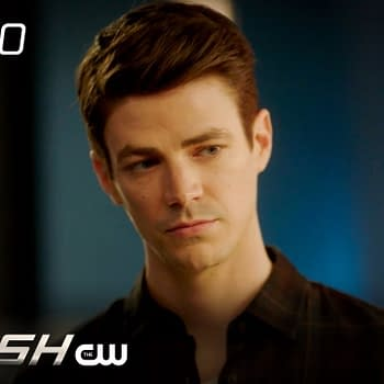 Grant Gustin as Barry Allen in The Flash, courtesy of The CW.