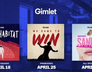 Gimlets Spring 2018 Podcasts Include Kristen Wiig/Alia Shawkats Sandra FIFA World Cup Series
