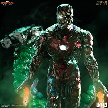Iron Man is Back from the Dead with New Statue from Iron Studios